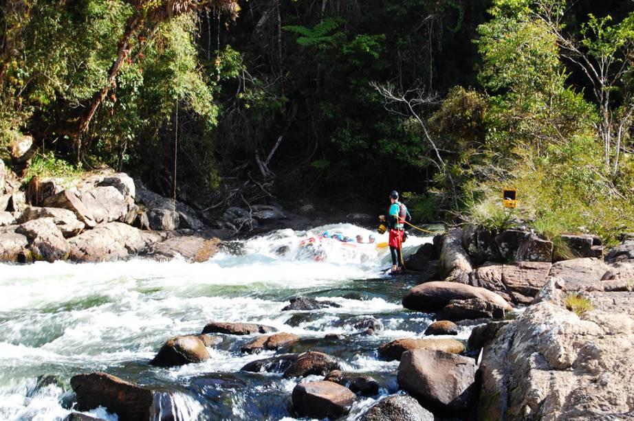 A cidade de São Luiz do Paraitinga também é muito procurada pelos amantes dos esportes de aventura.