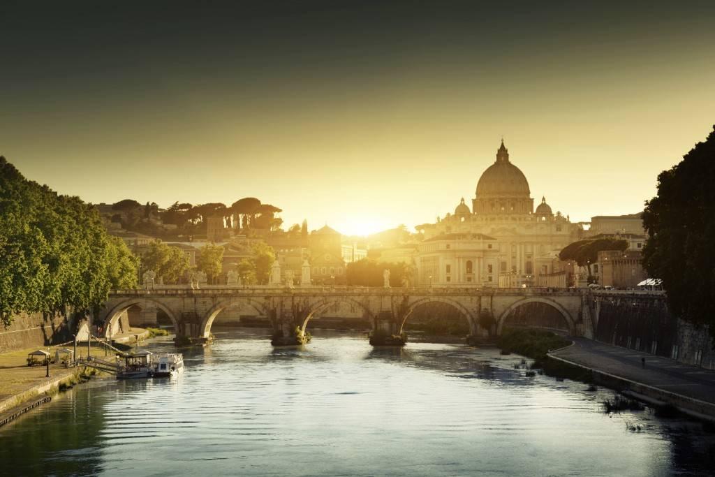 A visão atual da Basílica de São Pedro no Vaticano em Roma (Foto: iStock)