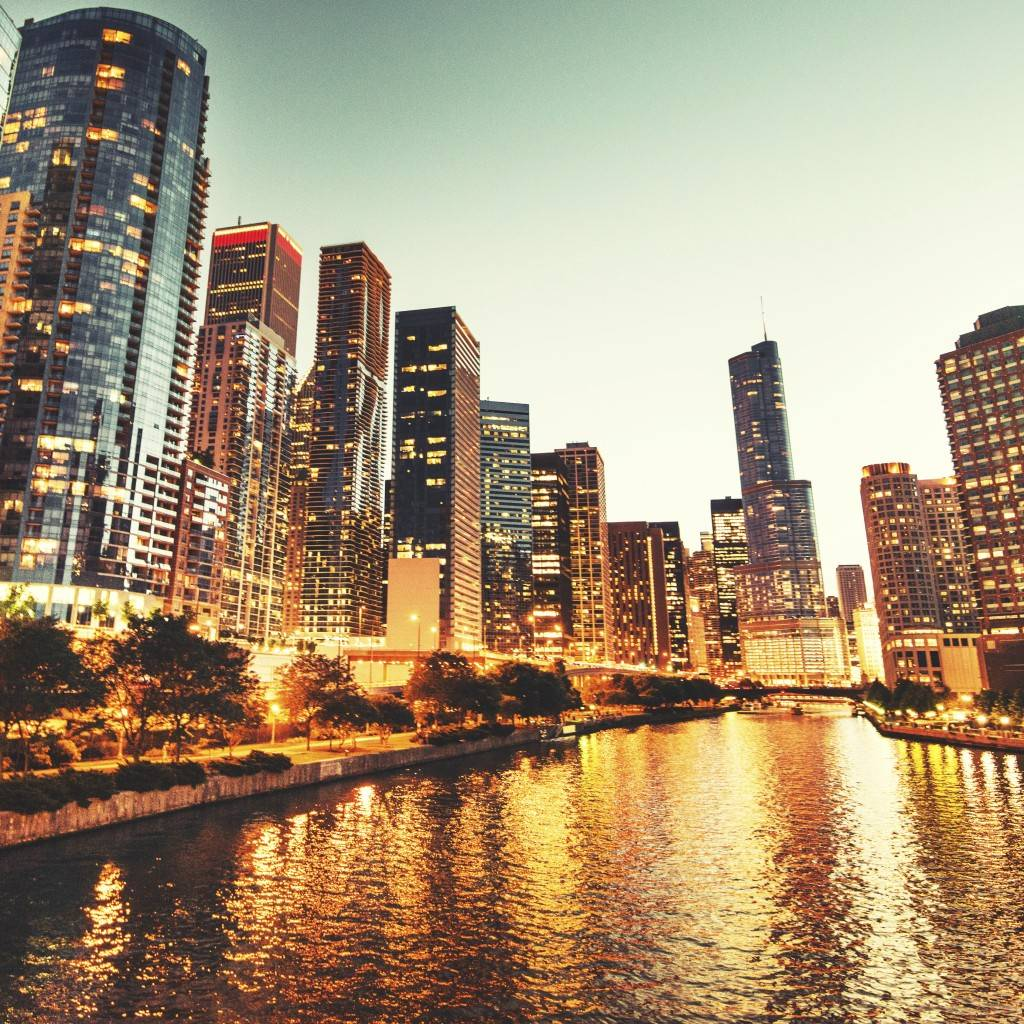 Horizonte de Chicago hoje (Foto: iStock)