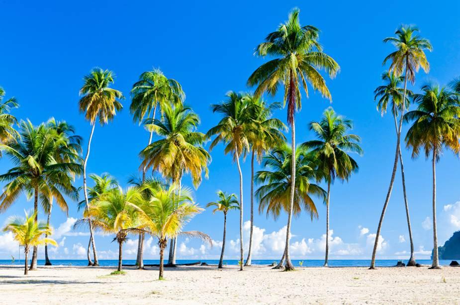 A praia de Maracas é imperdível para quem visita Trinidad