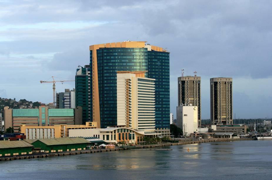Do Porto de Trinidad para o Porto da Espanha