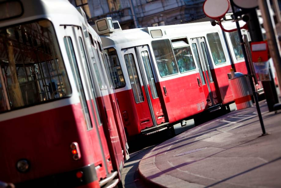 Viena tem um excelente sistema de transporte público, com bondes e trens circulando pelas principais atrações turísticas, proporcionando acesso conveniente para pessoas em cadeiras de rodas, mães com carrinhos de bebê e até cães-guia.