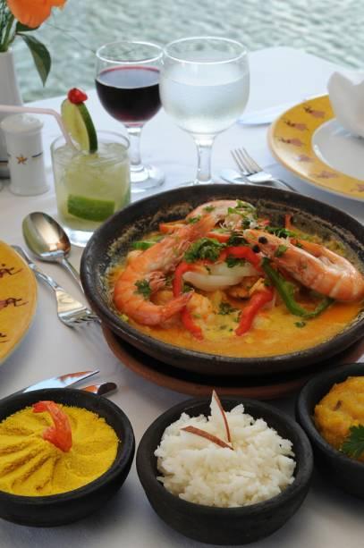 Prato do restaurante do hotel Iberostar Bahia