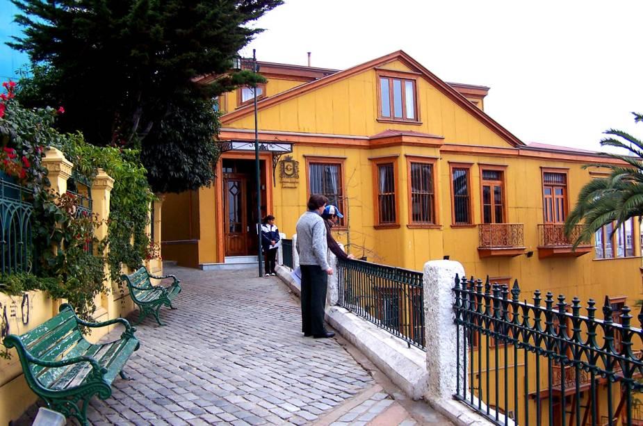 Uma das ruas mais famosas de Valparaíso é o Paseo Gervasoni - os visitantes podem acessá-lo através do Ascensor Concepción, um funicular que funciona desde 1883 e foi declarado monumento nacional do Chile.