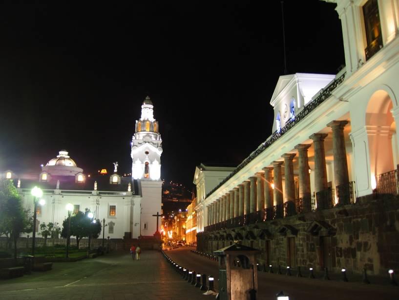 O centro histórico de Quito, capital do Equador, é Patrimônio Mundial da UNESCO desde 1978