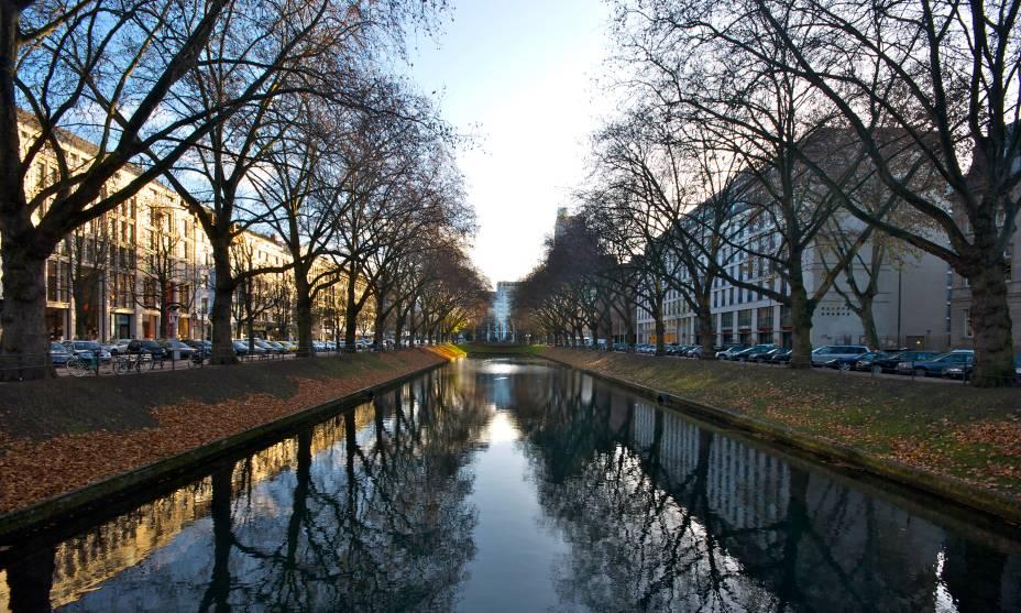 O charme de Düsseldorf