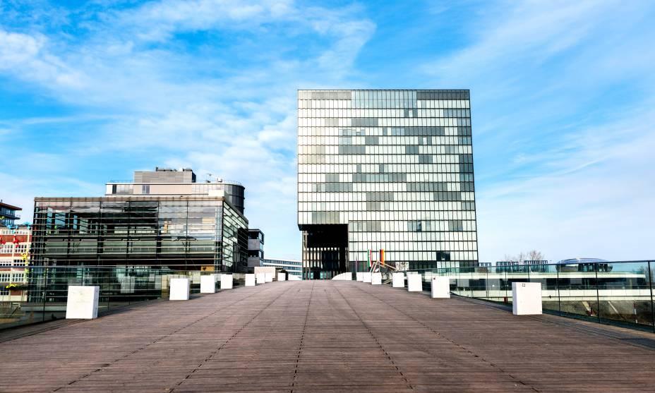 A atmosfera cosmopolita de Düsseldorf