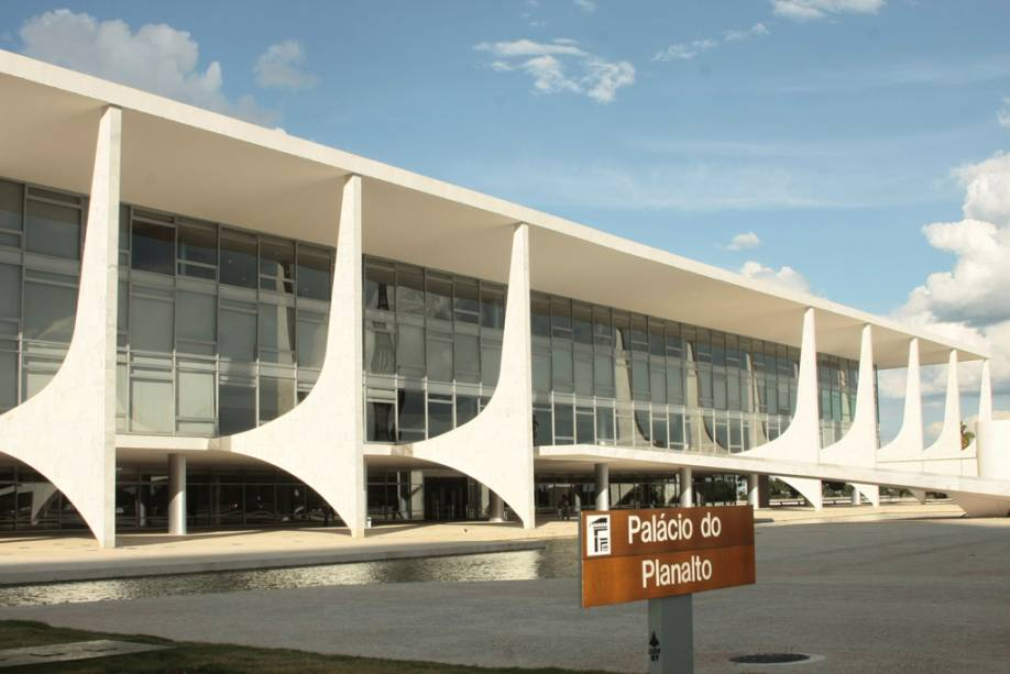Palácio do Planalto em Brasília