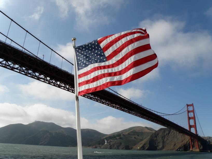 A Golden Gate Bridge era a ponte mais longa do mundo quando foi inaugurada em 1937