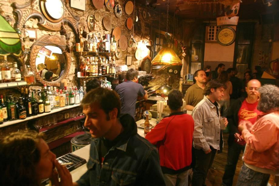 Casa das Creches, tradicional bar de Santiago de Compostela