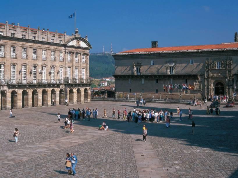 O Hotel dos Reis Católicos em Santiago de Compostela