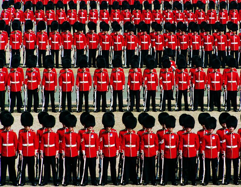 Royal Guard Parade em Londres