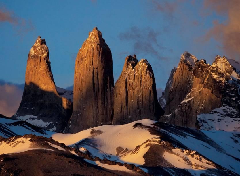 Antes frequentado apenas por montanhistas, o Parque Nacional Chileno Torres del Paine já recebe mais de 100.000 visitantes por ano