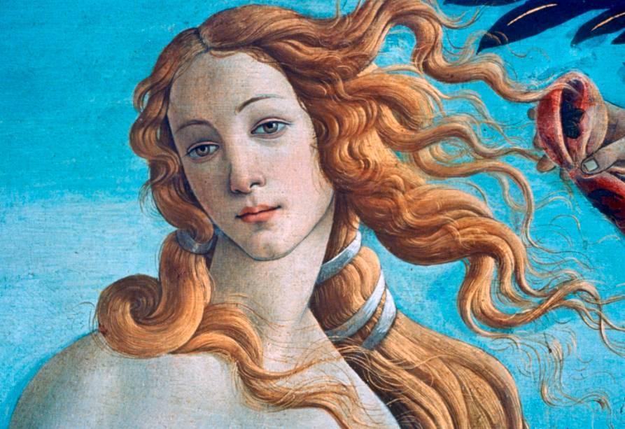Detalhe do nascimento de Vênus, Galerie Ufizzi