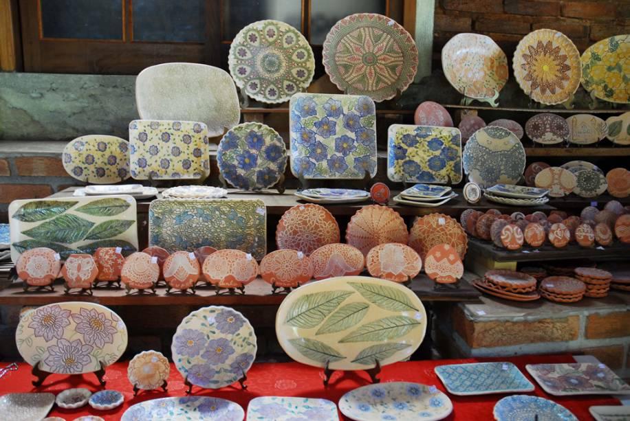 As moedas de cerâmica abriram Cunha para o turismo