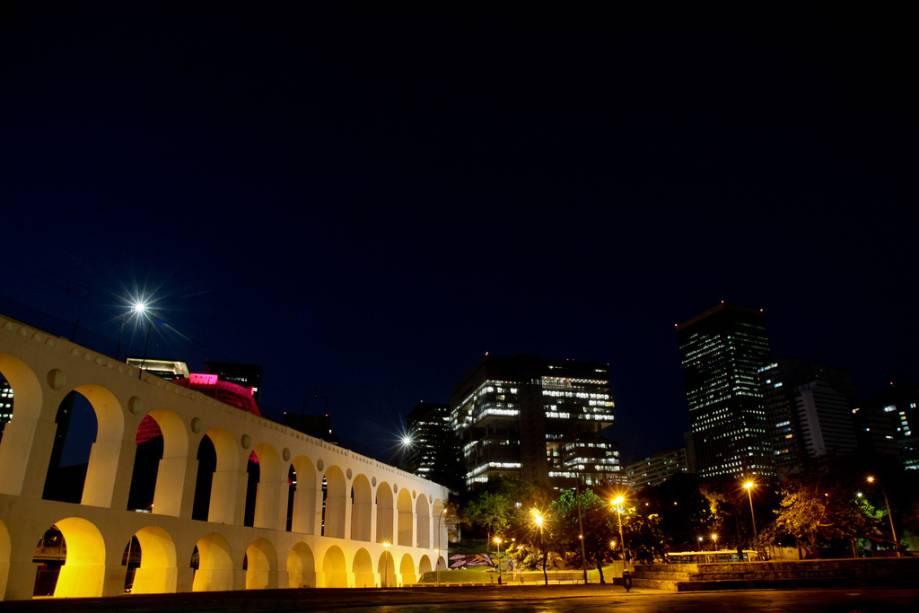 A Lapa é um bairro emblemático da vida noturna carioca, tem casas como Circo Voador, Carioca da Gema e Fundição Progresso