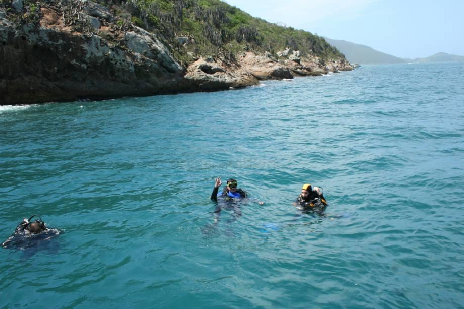 Devido ao fenômeno do renascimento, a fauna marinha de Arraial é uma das mais ricas, o que torna a cidade um paraíso do mergulho.