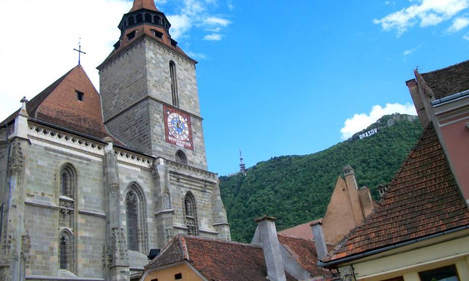 Edifícios medievais moldam a atmosfera da Transilvânia, Romênia