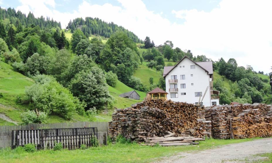 A região romena da Transilvânia abrange muitas paisagens idílicas