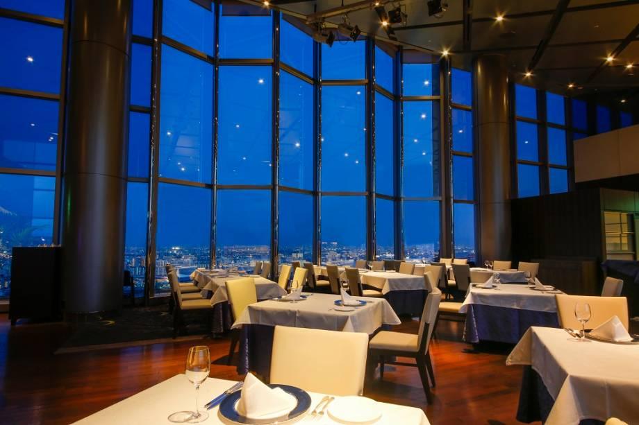 Vista do restaurante do Hotel Keihan Universal Tower perto dos Universal Studios