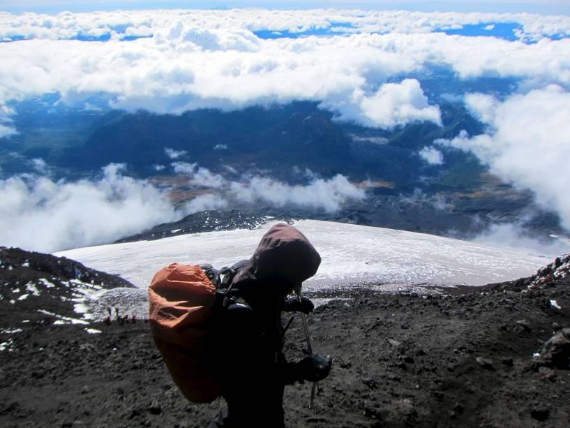 Escalada no vulcão Villarrica