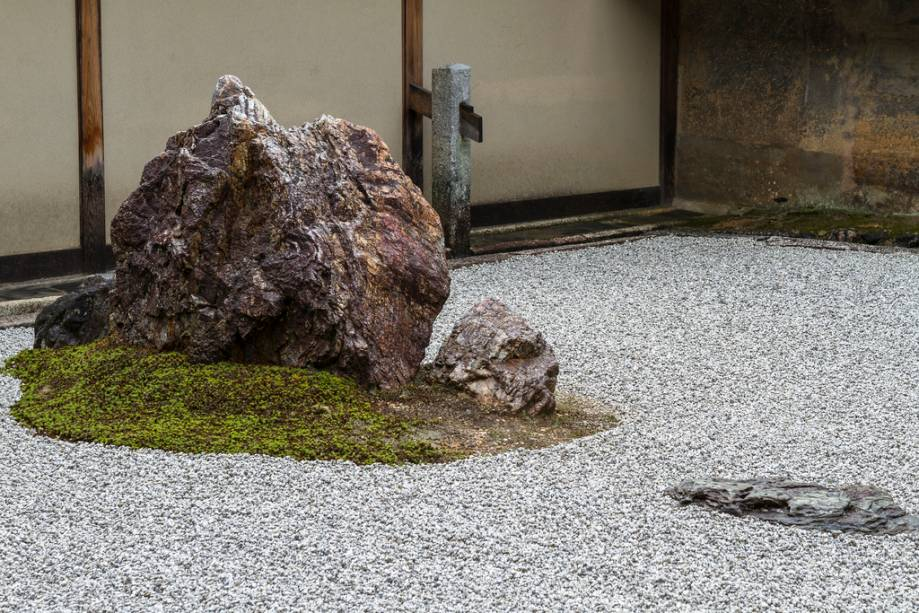 Jardim rochoso do templo Ryoanji