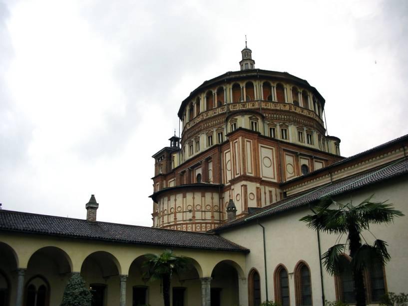 A principal atração da Igreja de Santa Maria della Grazie é Leonardos <em><noscript><img data- src=