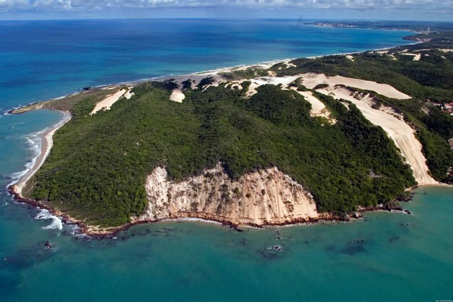 Morro do Careca no bairro de Ponta Negra em Natal, Rio Grande do Norte