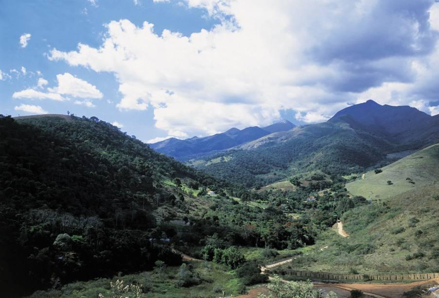 Vale das Videiras, distrito de Araras, em Petrópolis