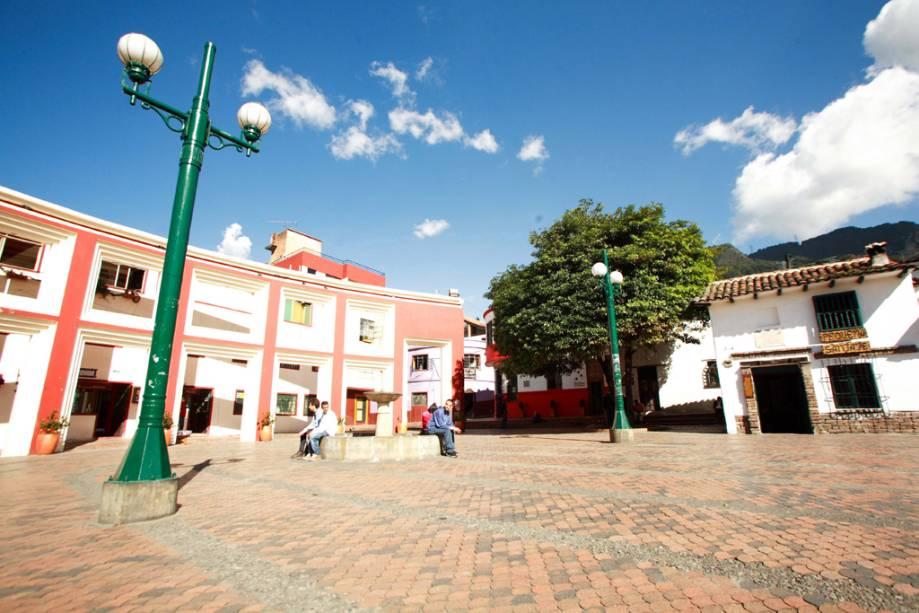 La Candelaria é um bairro histórico declarado monumento nacional