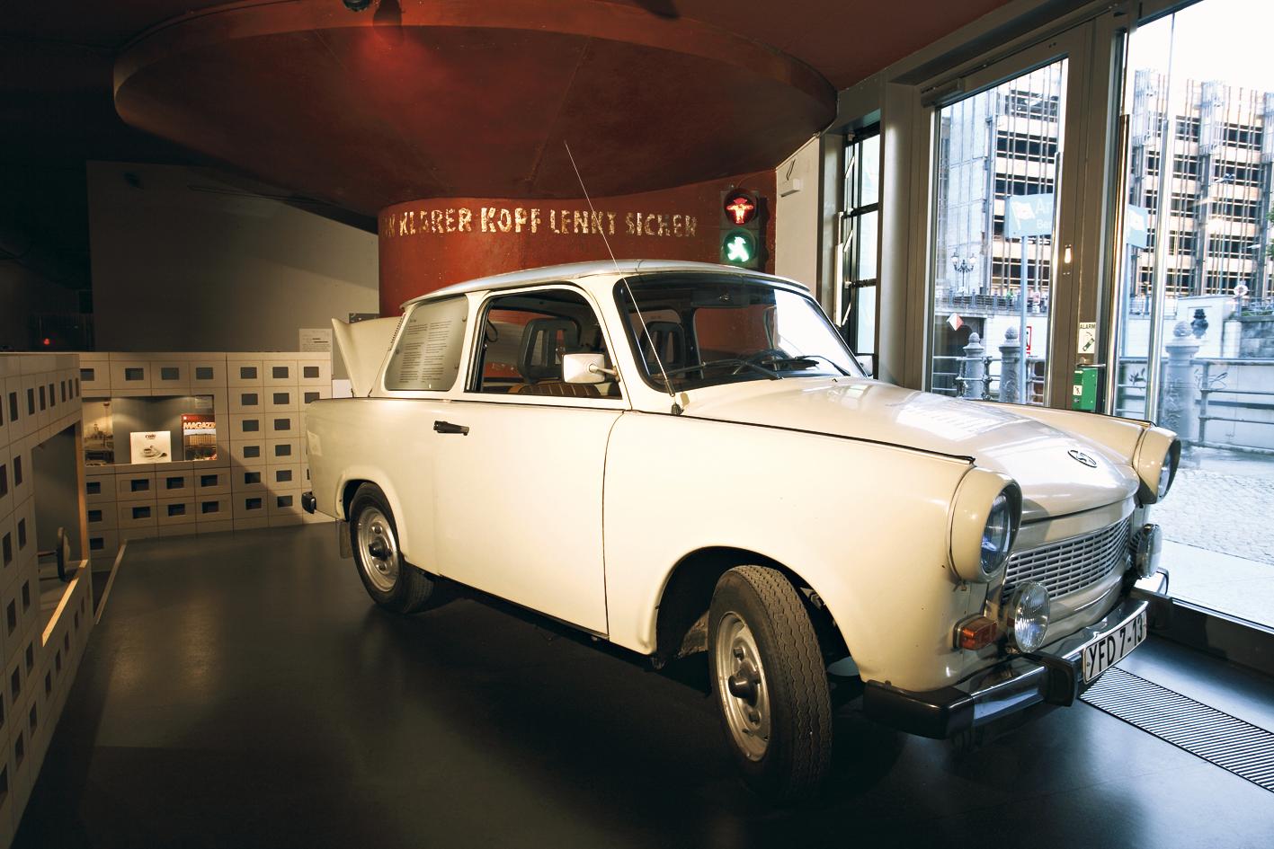 Trabant no Museu DDR, Berlim, Alemanha