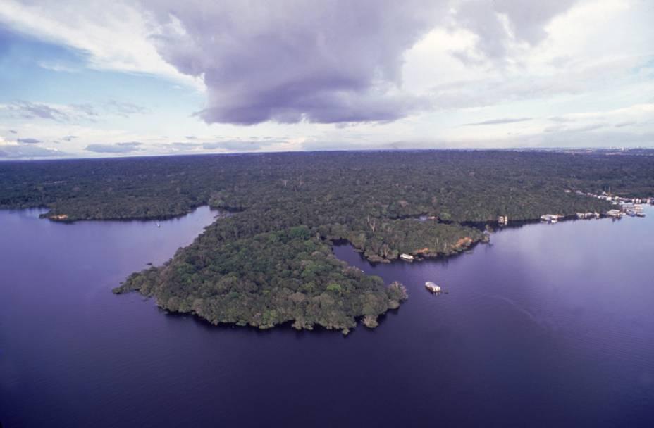 Arquipélago das Anavilhanas, em Manaus (AM)