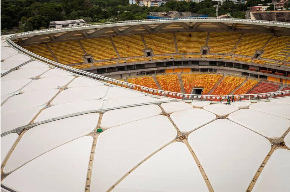 Na primeira fase, quatro jogos da Copa do Mundo serão disputados na arena