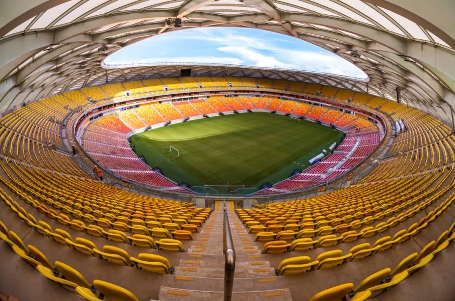 Na Arena Amazônia também jogam Camarões contra a Croácia, EUA contra Portugal e Honduras contra Suíça.