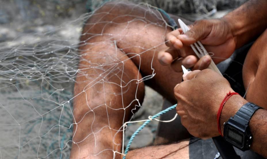 Pescador de manga