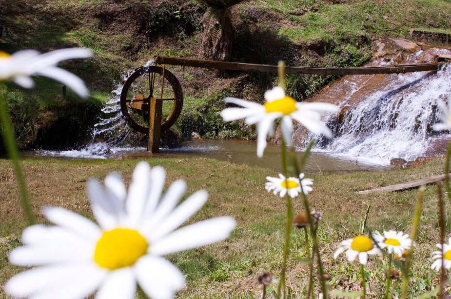 Apesar da respeitável estrutura turística, Monte Verde mantém suas características rurais