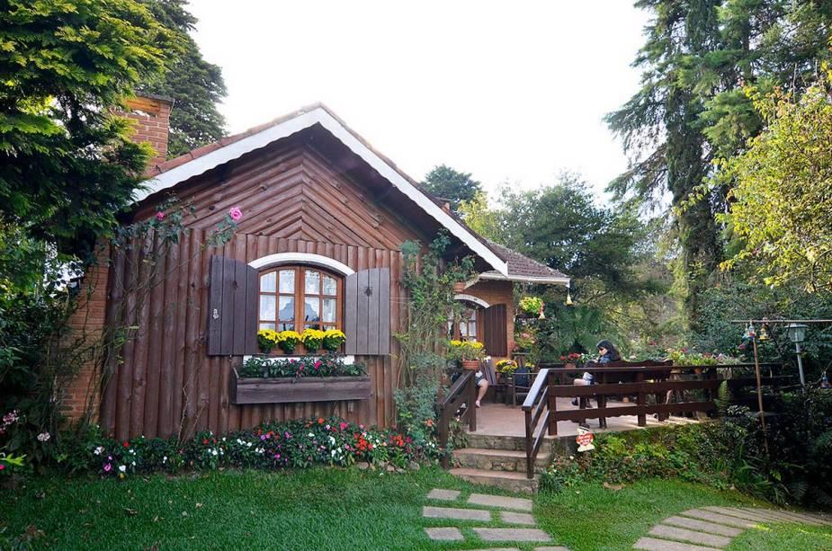 Casa da Tia Nata, onde são feitas as geleias mais famosas da região