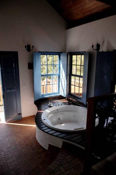 Jacuzzi no Provence Cottage & Bistrô, uma das melhores pousadas de Monte Verde
