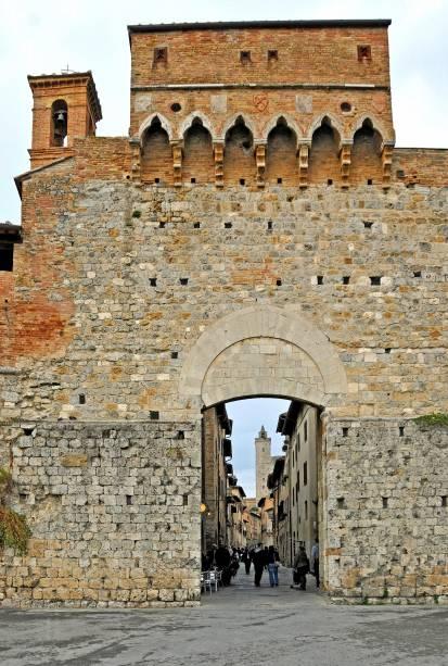 San Gimignano é um Patrimônio Mundial da UNESCO