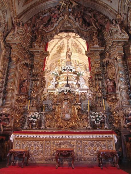 Altar-mor da Igreja Matriz Nossa Senhora do Pilar