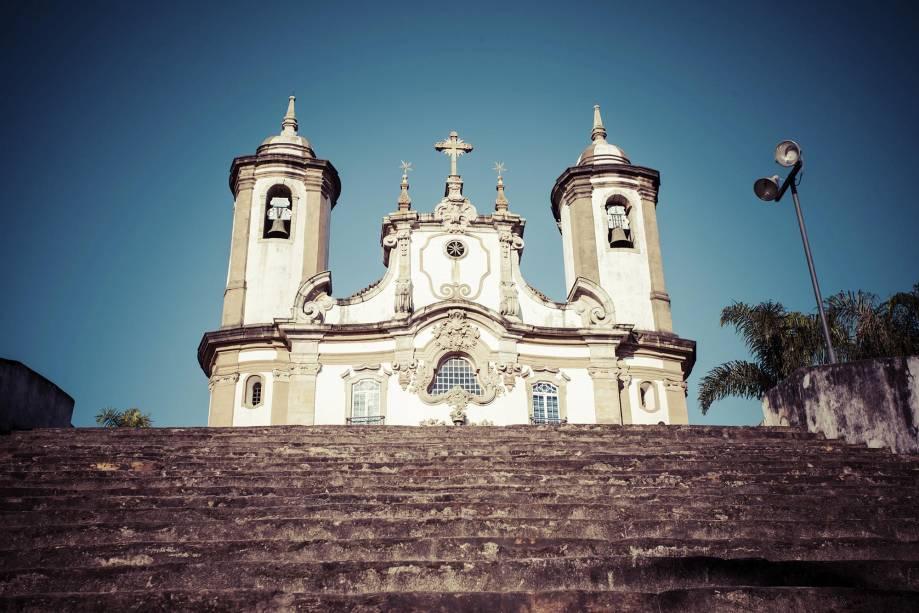 Ouro Preto também é berço das obras barrocas, com destaque para a arte sacra de Antônio Francisco Lisboa, o Aleijadinho
