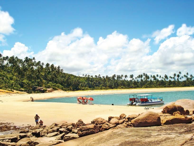 Tamandaré tem piscinas naturais como a de Porto de Galinhas, mas são menos lotadas
