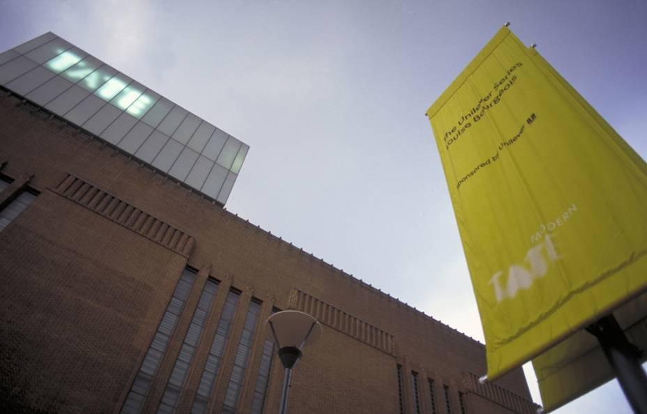O Museu Tate Modern de Arte Contemporânea, uma das atrações mais visitadas de Londres