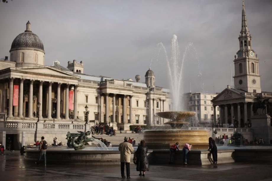 Galeria Nacional de Arte e Trafalgar Square, Londres