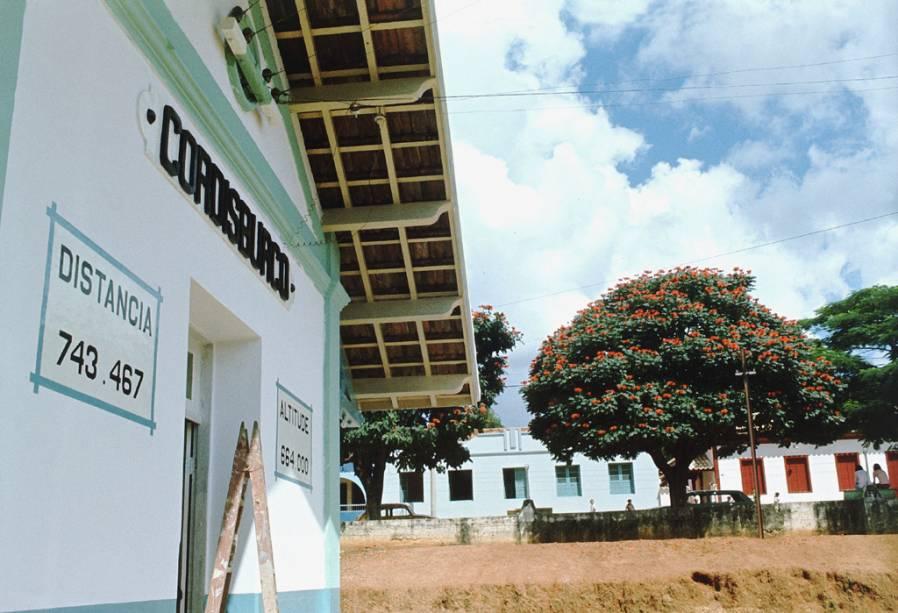 Estação de Cordisburgo, onde Guimarães Rosa nasceu e viveu até os 9 anos