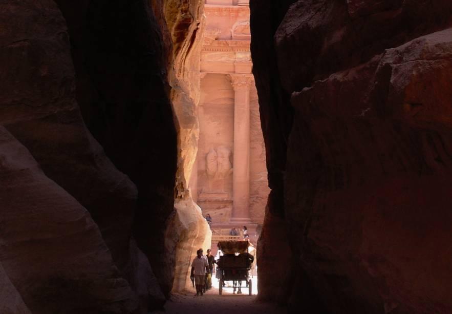Desfiladeiro Al Siq, Petra