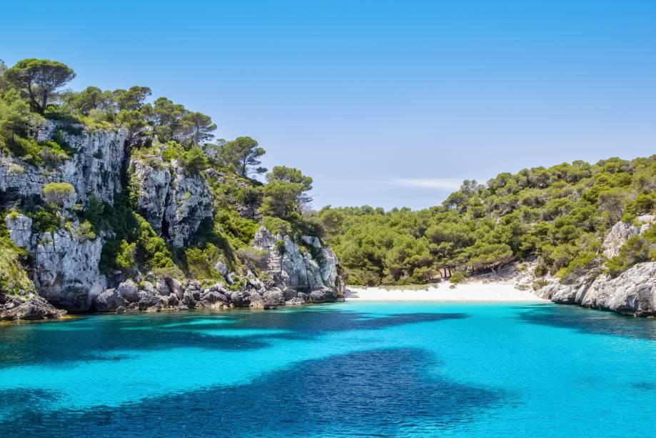 Cala (praia) Macarelleta, Menorca