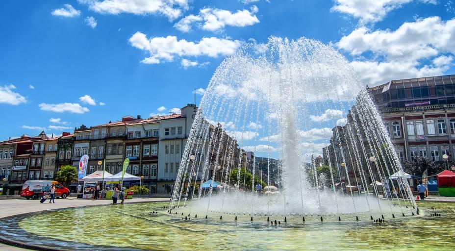 Praça da República em Braga