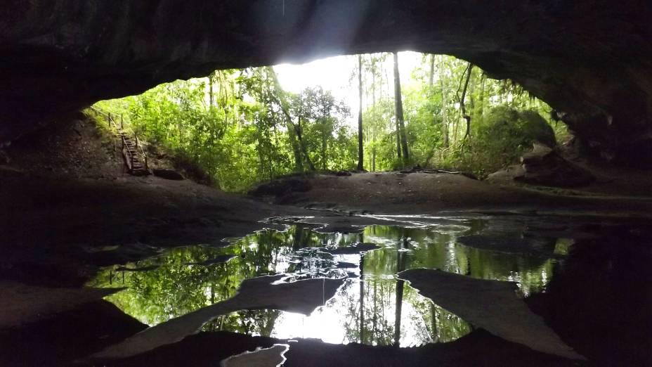 Caverna Aroe Jari, na Chapada dos Guimarães, Mato Grosso