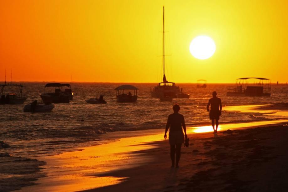 Pôr do sol em Punta Cana